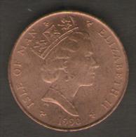 ISLE OF MAN PENNY 1990 - Monete Regionali