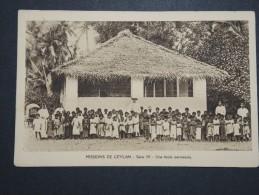 CEYLAN - Mission De Ceylan - Ecole Paroissiale - A Voir - Lot P14467 - Sri Lanka (Ceylon)
