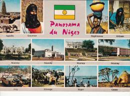 Niger Niamey  Multi View Postcard - Niger