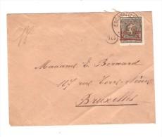 TP 186 Jeux Olympiques S/L.Escanaffles En 1921 V.Bxl PR2453 - Belgium