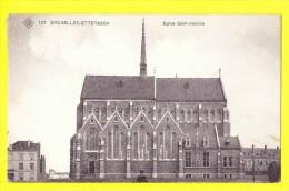* Etterbeek - Etterbeeck (Bruxelles - Brussel) * (SBP, Nr 137) église Saint Antoine, Kerk, Rare, Old, CPA, Gemeente - Etterbeek