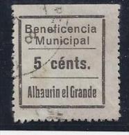 GUERRA CIVIL ESPAÑOLA 1936/39 - ALHAURIN EL GRANDE/MALAGA - Viñetas De La Guerra Civil