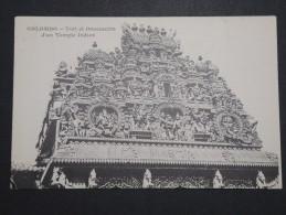 CEYLAN - Colombo - Toit Et Ornements D ' Un Temple Indien - A Voir - Lot P14472 - Sri Lanka (Ceylon)