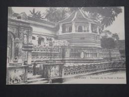 CEYLAN - Kandy - Temple De La Dent  - A Voir - Lot P14473 - Sri Lanka (Ceylon)