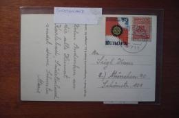 7564 SUDETENLAND BRUX - POSTCARD - 1967 - MIXED FRANKING - Sudeti