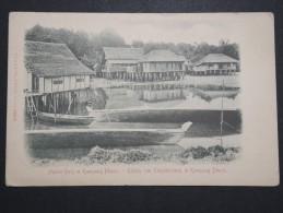 MALAISIE - Kampong Bharu - Native Huts - A Voir - Lot P14475 - Malaysia