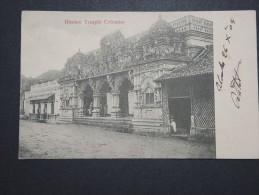 CEYLAN - Colombo - Temple Hindoo - 1904 - A Voir - Lot P14476 - Sri Lanka (Ceylon)