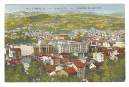A-566, Postcard, Sarajevo - General View, Vue Generale - Bosnia And Herzegovina