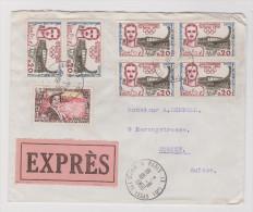 France 1960-08-18 Paris Exprès Brief Nach Zürich - France