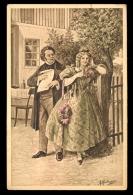 A. Hartmann; Aus Schuberts Tagen: Schubert Und Hannele / K.Ph.W.II No. 15 / Postcard Circulated - Paintings