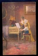 Aller Anfang Ist Schwer E. Schneider / Amag Kunst / Postcard Circulated - Peintures & Tableaux