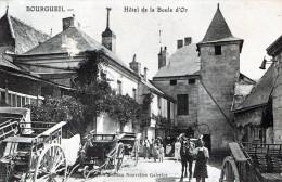 CPA - 37 - Bourgueil - Hôtel De La Boule D'Or - Autres Communes