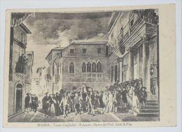 MASSA CARRARA - Teatro Guglielmi - Il Sipario - Opera Del Prof Gatti Di Pisa - Massa