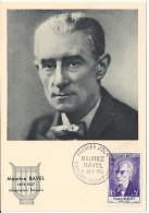 CARTE MAXIMUM 1er JOUR - N° 1071 - Maurice RAVEL - Année 1956 - Cartes-Maximum