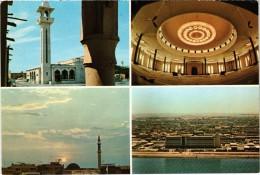 Très Très Rare - QUATAR - Multivues - Shaikh Khalifa Mosque Doha - Grand Mosque Doha - Sun Set View In Doha - - Qatar