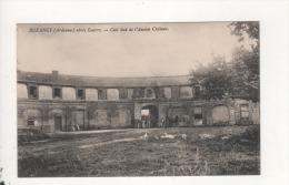 Buzancy Cote Sud De L Ancien Chateau Apres La Guerre - Francia