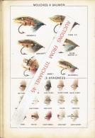 Rare Catalogue-guide 1908 WYERS Frères à PARIS Fabricants De Matériel Et Articles De Pêche - Catalogi