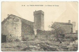 86 Les Trois Moutiers - Le Château De Curçay - Les Trois Moutiers