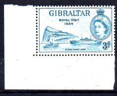 CI533 - GIBILTERRA  1954  ROYAL VISIT ***  MNH - Gibilterra