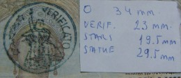 REPLICA SEAL# 3 VERIFICATO ND 1941 ON YUGOSLAVIA 1,000 DINARA 1931, VF, PICK-R15? VERY RARE. - [ 3] Military Issues