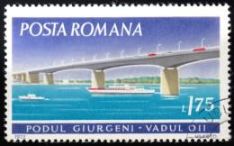 ROMANIA - Scott #2338 Giurgeni Bridge, Vadul (*) / Used Stamp - Ponti