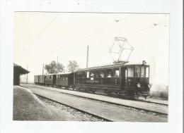 EN GARE DE GIVRINS EN 1918 - VD Vaud