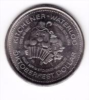1982 Kitchener-Waterloo $1 Oktoberfest Token - Canada