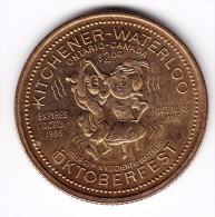 1986 Kitchener-Waterloo $2 Oktoberfest Token - Canada