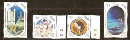 Nevis 1989 Yvertn° 513-516 *** MNH Cote 5,50 Euro Espace 1er Homme Sur La Lune - St.Kitts-et-Nevis ( 1983-...)
