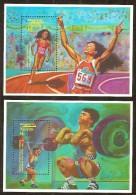 Nevis 1992 Yvertn° Bloc 47 Et 49 *** MNH Cote 15 Euro  Sport - St.Kitts-et-Nevis ( 1983-...)