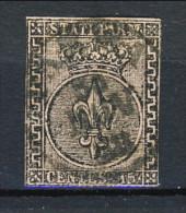 Parma 1852 N. 3 C. 15 Rosa, Annullo PARMA 21 Novembre 1853, Cat. € 160 - Parma