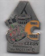 Auto Renault Cléon , Moteur C , En EGF - Renault