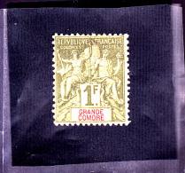 COMORE :  : Y&T : 13* - Grande Comore (1897-1912)