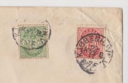 LETTRE DANEMARK COPENHAGUE POUR PARIS - DANMARK KJOBENHAVN POUR PARIS - 10 ORE VERT + 10 ORE ROUGE - ZOOM 3 Scans - - 1864-04 (Christian IX)