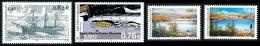 ST-PIERRE ET MIQUELON 2001 - Yv. 752 à 755 ** SUP  Faciale= 2,50 EUR - 4 Timbres Navire Marie-ThérèsÂ…Eté ..Réf.SPM11001 - Neufs