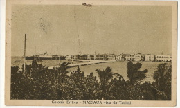 Colonia Eritrea Massaua Vista Da Taulud  Edit Cicero Used To Romania - Eritrea