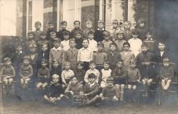 JEMEPPE-SUR-SAMBRE : CARTE PHOTO - Ecole Des Garcons - 1934 - Jemeppe-sur-Sambre