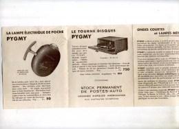 - PROSPECTUS PYGMY 1936 . - Littérature & Schémas