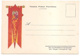 TARJETA POSTAL PATRIOTICA   VIVA ESPANA. MAGNIFICA.. - Emissioni Nazionaliste