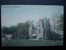 Cpa/pk 1911 Merelbeke Meirelbeke Chateau Bergwijk - Merelbeke