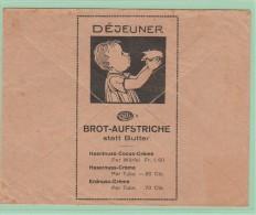 Cl.Ov2. Classe Ouverte. L-Illustrée. Déjeuner. Brot Aufstriche. Pain. Beurre. Cocos (Non Circulée) - Suisse