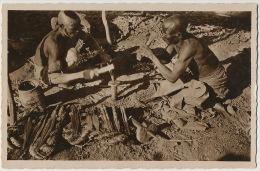 Fort Lamy AEF Tchad 157 Forgerons en plein air  Edit R. Pauleau Douala