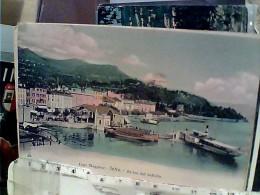 INTRA  IMBARCADERO ARRIVO DEL BATTELLO NAVE SHIP  FERRY VB1906  FD7309 - Verbania