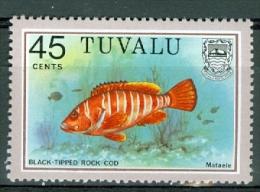 Tuvalu 1981 Fish MNH** - Lot. 4391 - Tuvalu