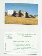 MADAGASCAR MADAGASKAR  Carte à Puce NEUVE Matrice SANS PUCE   /  MALAGASY  Card Without Chip MADAGASCAR - Madagaskar