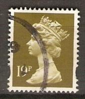 GRANDE  BRETAGNE  /   U.K..    1993.   Y&T N° 1709  Oblitéré - 1952-.... (Elisabetta II)
