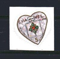 N° 38-   ( 0.50 € )   Coeur De Karl Lagerfield - Chanel - France