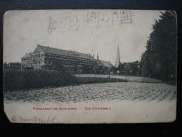 Cpa/pk Pensionnat De Beirlegem - Vue D'ensemble 1907 - Oosterzele