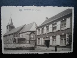 Cpa/pk Gijzenzele Kerk En Pastorij - Sint-Lievens-Houtem