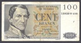 100 FRANCS 04.03.59 - [ 2] 1831-... : Belgian Kingdom